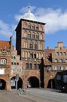 Zollturm in Lübeck, Schleswig-Holstein, Deutschland,  Unesco-Weltkulturerbe