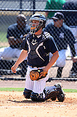 March 26, 2010:  Catcher J.R. Murphy of the New York Yankees organization during Spring Training at the Yankees Minor League Complex in Tampa, FL.  Photo By Mike Janes/Four Seam Images