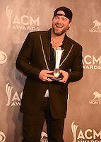 LAS VEGAS, NV - April 6: Song of the Year Award winner Lee Brice at the 49th Annual Academy of Country Music Awards Press Room at the MGM Grand on April 6, 2014 in Las Vegas, Nevada. © Kabik/ Starlitepics