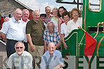 Theatre meets history: The members of the Lartigue Theatre group who took a trip on the Lartigue Mono-rail in Listowel on Sunday afternoon. Pictured.are Danny Hannon, Mike Moriarty, Eileen Hannon, Noreen OConnor, Laura Shine, Noreen OKeeffe, Brendan Kenny, Jed Chute, Mike Murphy,.Sean Moriarty, Maurice OConnor and Denis OMahoney.