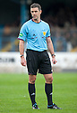 Referee Greg Aitken.