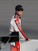 May 4, 2007; Richmond, VA, USA; Nascar Nextel Cup Series driver Kasey Kahne (9) during qualifying for the Jim Stewart 400 at Richmond International Raceway. Mandatory Credit: Mark J. Rebilas