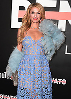 """LOS ANGELES- OCTOBER 11: Paris Hilton at the premiere of """"Demi Lovato: Simply Complicated"""" at The Fonda Theatre on October 11, 2017 in Los Angeles, California. (Photo by Scott Kirkland/PictureGroup)"""