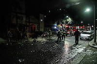 SÃO PAULO,SP, 13.02.2017 - PROTESTO-SP - Policiais entram em confronto com manifestantes após prisão de um traficante da Pilões do Complexo Heliópolis na zona sul de São Paulo nesta segunda-feira, 13. (Foto: Amauri Nehn/Brazil Photo Press)