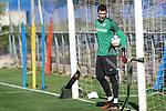 Getafe's David Soria during training session. May 19,2020.(ALTERPHOTOS/Acero)