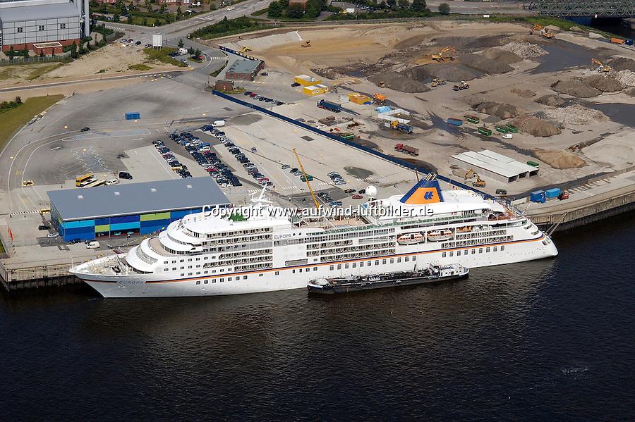 Deutschland, Hamburg, Hafencity, Kreuzfahrtterminal, Hapag- Lloyd, Europa