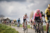 Taylor Phinney (USA/EF Education First)<br /> <br /> 74th Dwars door Vlaanderen 2019 (1.UWT)<br /> One day race from Roeselare to Waregem (BEL/183km)<br /> <br /> ©kramon
