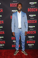 "3 March 2016 - West Hollywood, California - Jamie Hector. Amazon Original Series ""Bosch"" Season 2 Premiere held at the Pacific Design Center. Photo Credit: Byron Purvis/AdMedia"