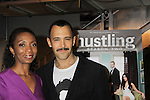 "Castmember Sharon Washington poses with Sebastion at a private screening of Sebastian La Cause's web series ""Hustling"" Season Two - 'cause everybody got a hustle -  was held on November 19, 2012 at TriBeca's Cinemas, New York City, New York. Days of our Lives ""Silvio"", One Live To Live and All My Children's Sebastian is the creator of Hustling along with being the writer, director and star (Photo by Sue Coflin/Max Photos)"