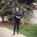 Patrol Officer Carla Bonn, 33<br /> Rapid Response Team<br /> Pacifying Police Unit<br /> Complexo do Caju, Rio de Janeiro, Brazil