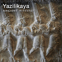 Yazılıkaya Hittite Rock Relief Sculpture Art