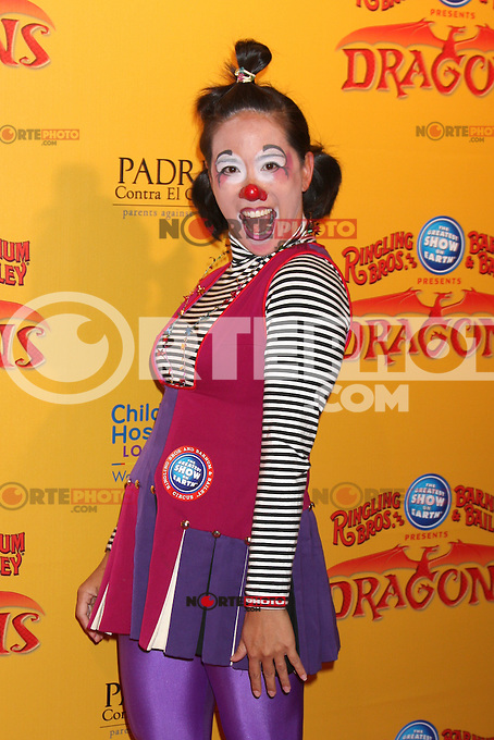 Circus Performer at the opening night of Ringling Bros. &amp; Barnum &amp; Bailey's 'Dragons' held at Staples Center on July 12, 2012 in Los Angeles, California. &copy;&nbsp;mpi27/MediaPunch Inc /*NORTEPHOTO*<br /> **SOLO*VENTA*EN*MEXICO**<br /> **CREDITO*OBLIGATORIO** <br /> **No*Venta*A*Terceros**<br /> **No*Sale*So*third**<br /> *** No*Se*Permite Hacer Archivo**<br /> **No*Sale*So*third**