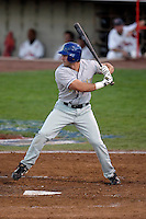 Bo Bowman of the Tri-City Dust Devils in the Northwest League championship game against the Salem-Keizer Volcanoes at Volcanoes Stadium - 9/10/2009..Photo by:  Bill Mitchell/Four Seam Images..