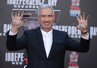 Roland Emmerich @ his Hand and Footprint Ceremony held @ the Chinese theatre.<br /> June 20, 2016.