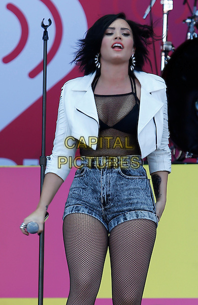 19 September 2015 - Las Vegas, NV - Demi Lovato.  2015 iHeartRadio Music Festival Village at MGM Village.  <br /> CAP/ADM/MJT<br /> &copy; MJT/AdMedia/Capital Pictures