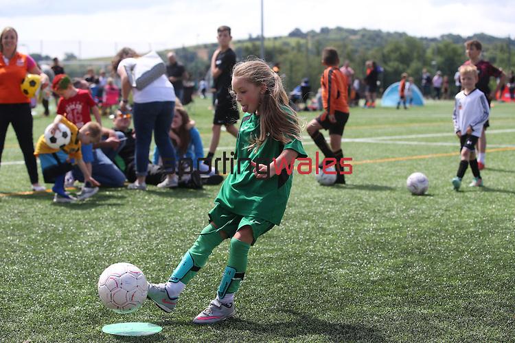 McDonalds Community Football festival at Rogerstone School.<br /> 25.06.16<br /> ©Steve Pope Sportingwales