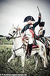 Show of the repost Allies of the bicentenary of the Battle of Waterloo. <br /> Waterloo, 20 june 2015, Belgium<br /> Pics: Napoleon