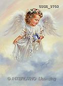 Dona Gelsinger, CHILDREN, paintings, angel girl, bird(USGE9702,#K#) Kinder, niños, illustrations, pinturas angels, ,everyday