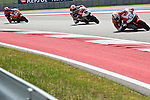 austin. tejas. USA. motociclismo<br /> GP in the circuit of the americas during the championship 2014<br /> 11-04-14<br /> En la imagen :<br /> free practices moto 2<br /> axel pons<br /> Johann zarco<br /> mattia pasini<br /> photocall3000 / rme