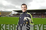 Brian McGuire at the Kerry Senior Football Team Media day at Fitzgerald Stadium on Saturday.
