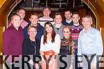 Staff of Moriarty Murphy accountants, Killarney enjoying their christmas party in the Killarney Plaza Hotel on Friday night, from left: John O'Donoghue, Damien Clifford, Margaret McCarthy, David Nolan, Alieen O'Sullivan, Michael Moriarty, Aidan Ryan, Josie Slattery, John Mannix, Joe Clifford and Denis Murphy