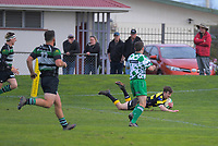 Action from the Manawatu premier rugby union match between Feilding Yellows and Old Boys Marist at Johnston Park in Feilding, New Zealand on Saturday, 1 August 2020. Photo: Dave Lintott / lintottphoto.co.nz