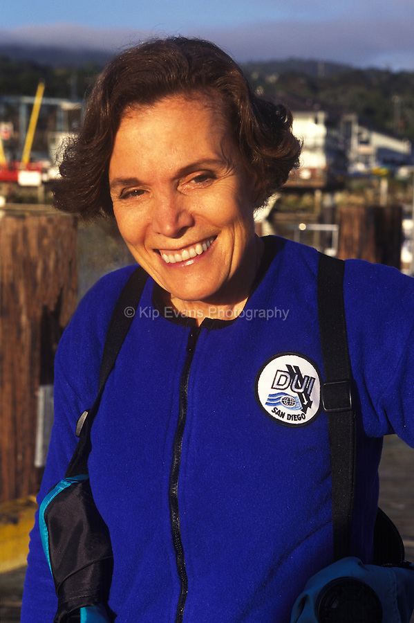 Dr. Sylvia Earle, Monterey Bay California