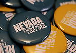 State tourism officials unveiled a new Nevada brand during a press conference at the Capitol in Carson City, Nev., on Tuesday, April 9, 2013. The brand will be used to entice visitors and promote everything from tourism to economic development, job training and education. .Photo by Cathleen Allison