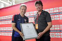 01.06.2013: USA-Pressekonferenz mit Jürgen Klinsmann