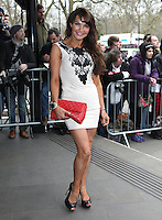 Lizzie Cundy arriving for the TRIC Awards 2014, at Grosvenor House Hotel, London. 11/03/2014 Picture by: Alexandra Glen / Featureflash