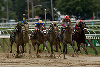 SARATOGA SPRINGS, NY- AUGUST 03: Proven Reserves with Iran Ortiz wins  at Saratoga Racecourse on August 3, 2018 in Saratoga Springs, New York.(Photo by Alex Evers/Eclipse Sportswire)