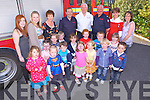 Graduation night for the kids from Little Stars Creche, Abbeyfeale who were treated with a special visit last Monday night with members from Abbeyfeale Fire Station