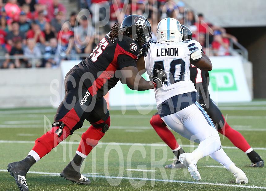 SirVincent Rogers Ottawa RedBlacks-8july2017-Photo: Scott Grant
