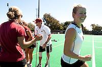 STANFORD, CA - SEPTEMBER 6: Jaimee Erickson plays against Michigan State on September 6, 2010 in Stanford, California.