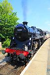 Heritage steam railway, Cromer station, North Norfolk Railway, England, UK - The North Norfolkman