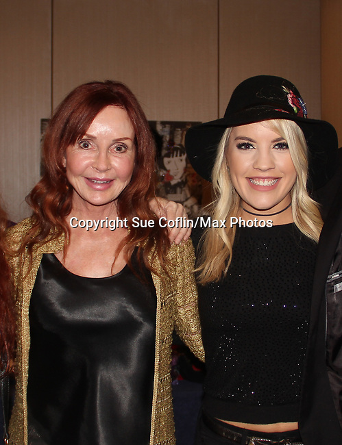 Jacklyn Zeman & Kristen Alderson - The 31st Annual Jane Elissa Entertainment Extravaganza to benefit Leukemia, Cancer Research and Broadway Cares Equity Fights Aids on November 5, 2018 at the New York Marriott Marquis, New York City, New York.  (Photo by Sue Coflin/Max Photos)