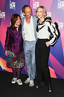 Claire Stewart, Julian Rosefeldt & Cate Blanchett<br /> arriving for the LFF Connects photocall at the BFI, South Bank, London<br /> <br /> <br /> ©Ash Knotek  D3321  06/10/2017