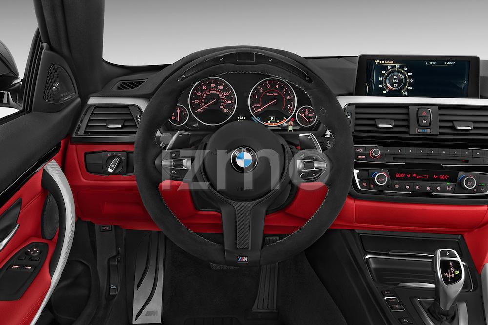 2015 BMW 435 Steering Wheel Coupe Stock Photo