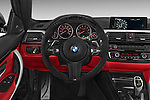 2015 BMW 435 Steering Wheel Coupe Stock Photo