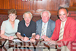 Taking part in the table quiz at The Top of the Town Athea in aid of Athea tidy town Committee on Friday night were  Betty Cotter, Tommy Finn, Jo O'Connor and Timmy Wallace...   Copyright Kerry's Eye 2008
