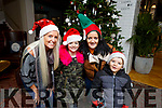 Enjoying the Christmas Spirit in the Ashe Hotel on Saturday<br /> L-r, Marilyn and Aoife O&rsquo;Shea, Sabrina O&rsquo;Brien and Kayden Ward O&rsquo;Brien.