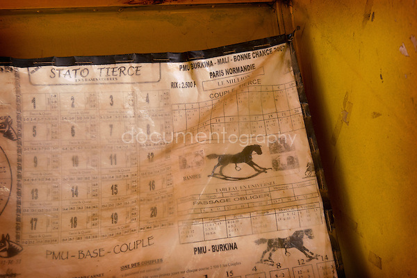 There are various sorts of horse races for which we can bet in Burkina Faso : the flat, the hedges, the atelé... Bets on horse-races in Burkina Fasi appeared in May, 1990.