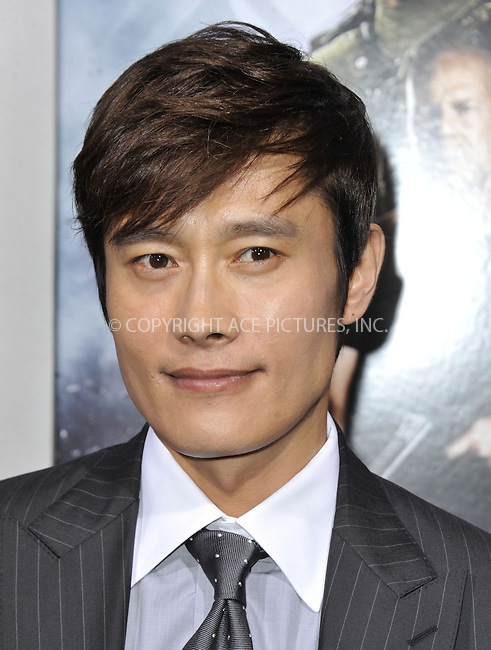 WWW.ACEPIXS.COM....March 28 2013, LA....Byung-Hun Lee arriving at the 'G.I. Joe: Retaliation' Los Angeles premiere at the TCL Chinese Theatre on March 28, 2013 in Hollywood, California.......By Line: Peter West/ACE Pictures......ACE Pictures, Inc...tel: 646 769 0430..Email: info@acepixs.com..www.acepixs.com