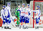Stockholm 2015-03-14 Bandy Bronsmatch Hammarby IF - Villa Lidk&ouml;ping BK :  <br /> Villa Lidk&ouml;pings David Karlsson firar sitt 3-1 m&aring;l med Daniel Andersson , Jesper Bryngelson och lagkamrater under matchen mellan Hammarby IF och Villa Lidk&ouml;ping BK <br /> (Foto: Kenta J&ouml;nsson) Nyckelord:  Tele2 Arena SM Brons Bronsmatch Tredjepris herr herrar Hammarby HIF Bajen Villa Lidk&ouml;ping VLBK jubel gl&auml;dje lycka glad happy