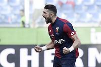 esultanza gol Andrey Galabinov goal celebration<br /> Genova 26-08-2017 Stadio Marassi Calcio Serie A 2017/2018 Genoa -<br /> Juventus Foto Imagesport/Insidefoto