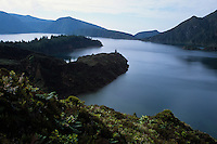 The world seems to have been created days ago on Lagoa de Fogo, Ilha de Sao Miguel, Azores, 1998