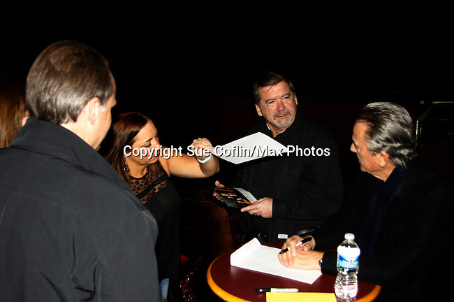 Eric Braeden & fans - The Young and The Restless - Genoa City Live celebrating over 40 years with on February 27. 2016 at The Lyric Opera House, Baltimore, Maryland on stage with questions and answers followed with autographs and photos in the theater.  (Photo by Sue Coflin/Max Photos)
