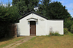 Small wooden chapel building, Boyton Mission, Boyton, Suffolk, England, UK built in 1929