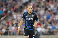 Stanford, CA - Saturday June 30, 2018: Magnus Eriksson prior to a Major League Soccer (MLS) match between the San Jose Earthquakes and the LA Galaxy at Stanford Stadium.