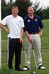 J P Rooney and Colm Kelly pictured at the Naomh Martin Golf Classic held in Ardee..Picture: Arthur Carron/Newsfile